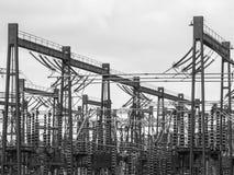 Bolney Substation, Wineham, Mid Sussex, UK royalty free stock photos