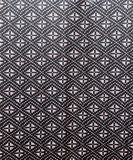 Black and white silk fabric Royalty Free Stock Photography