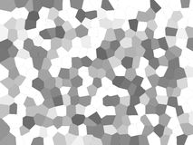 Black and white simple mosaic abstract background. Abstract background with nice texture made of many mosaic tiles Stock Image