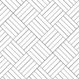Black and white simple wooden floor parquet seamless pattern, vector Stock Photography
