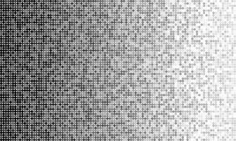 Black and white simplistic round mosaic and minima Stock Images