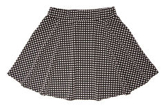 Black and white skirt Royalty Free Stock Photos