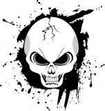 Black and white skull Stock Photos