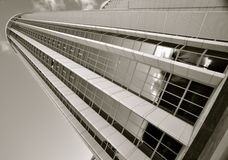 Black and White Skyscraper Royalty Free Stock Photo
