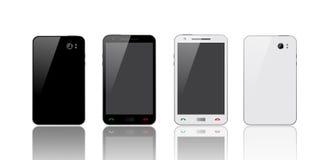 Black & White Smart Phone Stock Photo