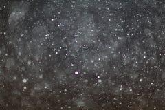 Black white snow texture Royalty Free Stock Image