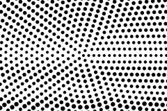 Black white sparse faded dotted gradient. Half tone background. vector illustration