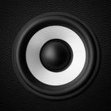 Black & white speaker Stock Photography