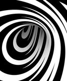 Black and white spiral Royalty Free Stock Photography