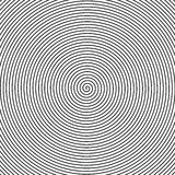Black and white spiral Royalty Free Stock Photo
