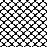 Black and white squama pattern vector illustration
