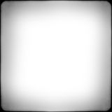 Black and white square frame Royalty Free Stock Photography