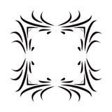 Black & White Square Frame Royalty Free Stock Image