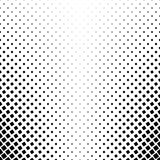 Black and white square pattern - abstract vector background design from angular rounded squares Stock Image