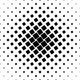 Black and white square pattern - geometrical abstract vector background graphic from angular rounded squares. Black and white square pattern - geometrical Royalty Free Stock Photos
