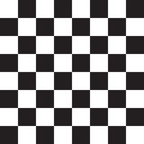 Black and White Squares. Chess board. Illustration Royalty Free Stock Photo