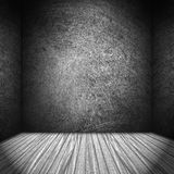 Black and white stage background Royalty Free Stock Photo