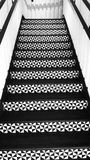 Black and White staircase patterns Stock Photos