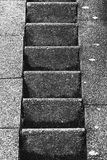 Black and white stairs Royalty Free Stock Images