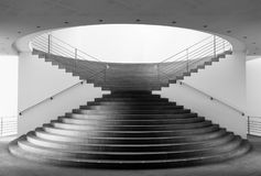 Black And White, Stairs, Architecture, Monochrome Photography Stock Image