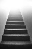 Black and white stairs Royalty Free Stock Photography