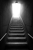 Black and white Stairway Royalty Free Stock Images