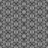 Black and white star pattern Stock Photos