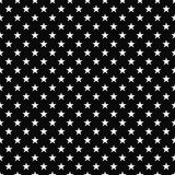 Black and white stars seamless pattern background. Black and white stars seamless repeat pattern background with texture royalty free illustration