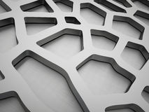 Black and white steel cells background Stock Photo