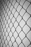 black and white steel net Stock Images