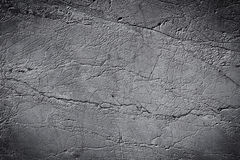Black and white stone grunge background Royalty Free Stock Images