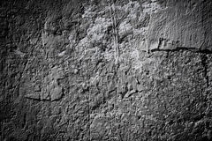 Black and white stone grunge background wall texture Stock Images