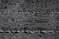 Black and white stone grunge background wall texture Stock Image