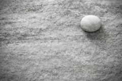Black and white stone on rock, grunge background or texture Royalty Free Stock Images