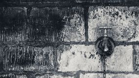 Black and white stone wall texture Royalty Free Stock Photos