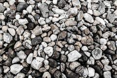 Black & White Stones Texture Royalty Free Stock Images