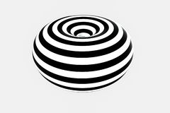 Black and white stripe, Repeating lines, 3d rendering. Computer digital background striped pattern wallpaper texture tile geometry seamless structure abstract royalty free illustration