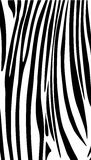 Black and white striped abstract background. Vertical composition, background for poster, art, web, print, home decor and more production. Vector file with vector illustration