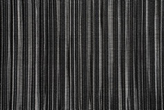 Black and White Striped Background on Mat. Black and White Striped Background on Food Mat Stock Image