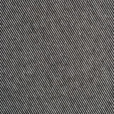 Black and white striped cotton polyester texture. Background Stock Images
