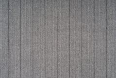 Black white striped fabric. Closeup of a black and white striped fabric suitable as a texture Royalty Free Stock Photos