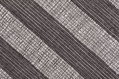 Black and white striped fabric background Royalty Free Stock Image