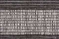 Black and white striped fabric background Stock Image