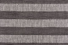 Black and white striped fabric background Stock Photography