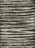 Black and white striped rattan background Stock Photography