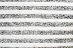 Black and white striped textile. Closeup of black and white striped textile for background Royalty Free Stock Photos