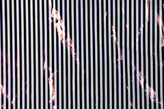 Black and White Stripes Forming Background Pattern Stock Photography
