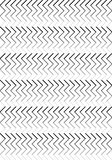 Black & White Stripes pattern royalty free stock photo
