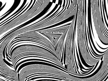Black And White Stripes Pattern Vector Stock Photography