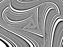 Black And White Stripes Pattern Vector Royalty Free Stock Image